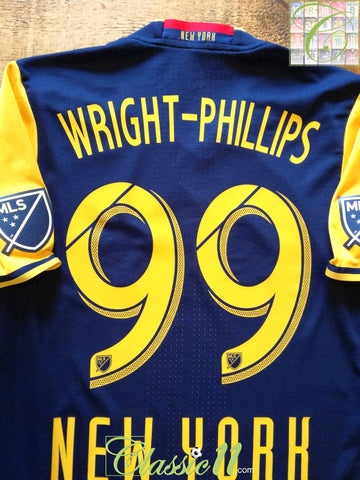 2016 New York Red Bulls Away MLS Player Issue Football Shirt Wright-Phillips #99 (M)
