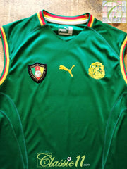 2002 Cameroon Home Football Vest Shirt (M)