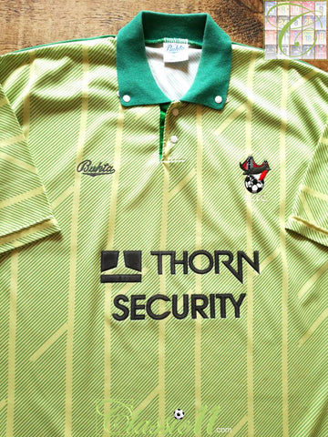 1990/91 Bristol City Away Football Shirt (S)