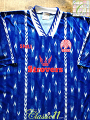 1992/93 Colchester United Home Football Shirt (XL)