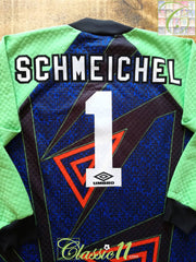 1994/95 Man Utd Goalkeeper Football Shirt Schmeichel #1 (XL)