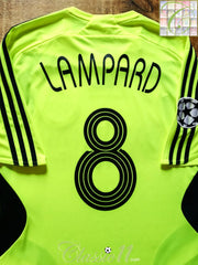 2007/08 Chelsea Champions League Away Player Issue Football Shirt Lampard #8 (L)