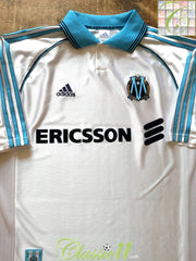 1998/99 Marseille Home Centenary Football Shirt (XL)