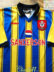 1995/96 Southampton Away Football Shirt (XXL)