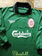 1996/97 Liverpool Goalkeeper Football Shirt (M)