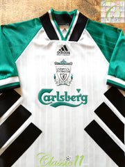 1993/94 Liverpool Away Football Shirt (S)