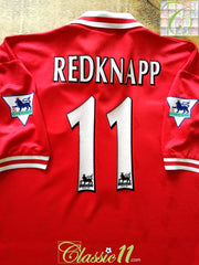1997/98 Liverpool Home Premier League Football Shirt Redknapp #11 (XL)