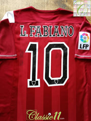 2007/08 Sevilla Away La Liga Football Shirt L.Fabiano #10 (M)