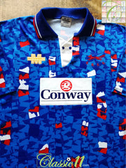 1993/94 Carlisle United Home Football Shirt (L)