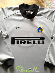 2001/02 Internazionale Goalkeeper Football Shirt (M)