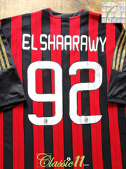 2013/14 AC Milan Home Football Shirt El Shaarawy #92 (XXXL)