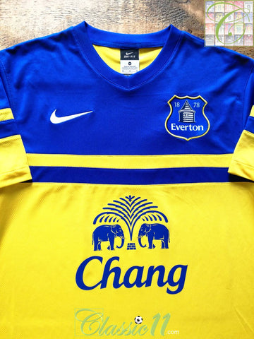 2013/14 Everton Away Football Shirt (L)