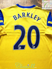 2013/14 Everton Away Premier League Football Shirt Barkley #20 (M)