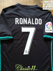 2017/18 Real Madrid Away La Liga Football Shirt Ronaldo #7 *BNWT*