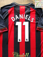 2018/19 Bournemouth Home Premier League Football Shirt Daniels #11 (XL) *BNWT*