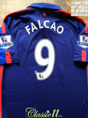 2014/15 Man Utd 3rd Premier League Football Shirt Falcao #9 (M)