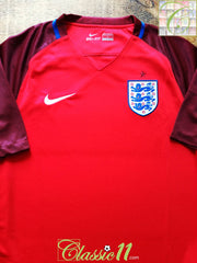 2016/17 England Away Football Shirt (S) *BNWT*