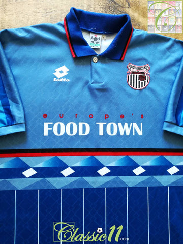 1996/97 Grimsby Town Away Football Shirt (XL)