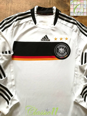 2008/09 Germany Home Player Issue Football Shirt. (M)
