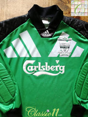 1992/93 Liverpool Goalkeeper Football Shirt (S)