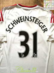 2015/16 Man Utd Away Premier League Football Shirt Schweinsteiger #31 (M)