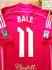2014/15 Real Madrid Away Football Shirt Bale #11 (M)