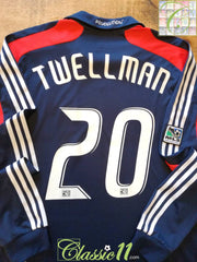 2008 New England Revolution Home MLS Player Issue Football Shirt. Twellman #20 (XL)