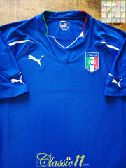 2010/11 Italy Home Player Issue Football Shirt (XL) *BNWT*