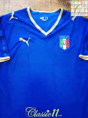 2008/09 Italy Home Player Issue Football Shirt (XL)