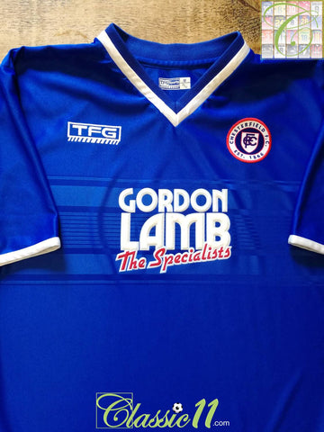 2001/02 Chesterfield Home Football Shirt (M)