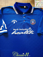 1992/93 Chesterfield Home Football Shirt (L)