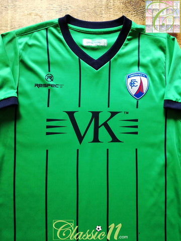 2010/11 Chesterfield Away Football Shirt (S)