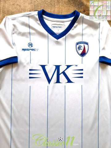 2011/12 Chesterfield Away Football Shirt (S)
