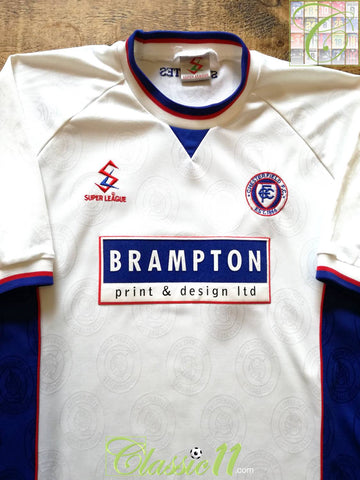 1999/00 Chesterfield Away Football Shirt (L)
