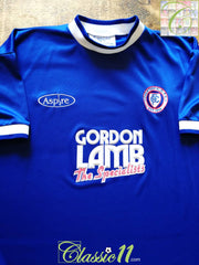 2000/01 Chesterfield Home Football Shirt (M)