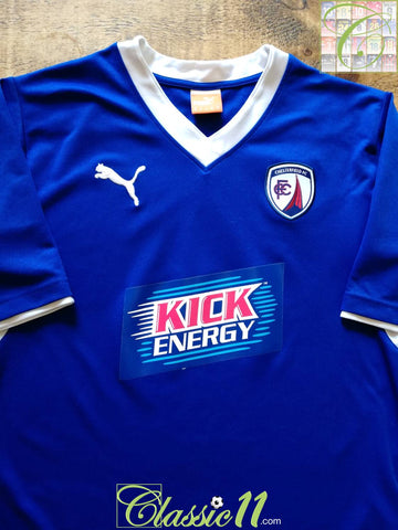 2012/13 Chesterfield Home Football Shirt (M)