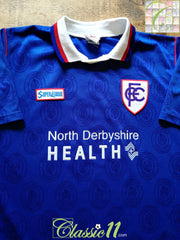 1996/97 Chesterfield Home Football Shirt (L)