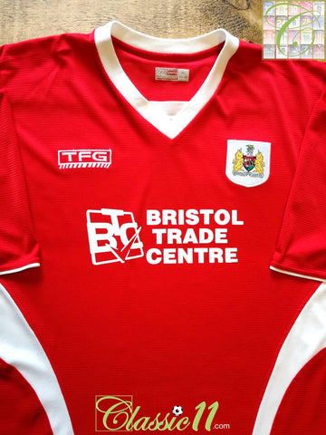 2005/06 Bristol City Home Football Shirt (XL)