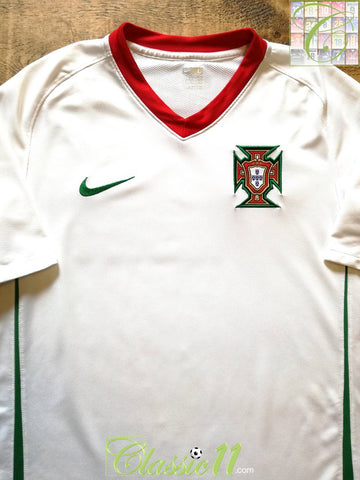 2008/09 Portugal Away Football Shirt (L)
