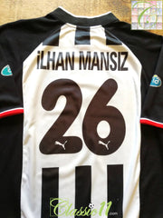 2002/03 Besiktas Away Centenary Football Shirt Ilhan Mansiz #26 (L)