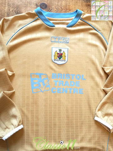 2005/06 Bristol City Away Football Shirt. (L)