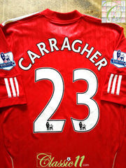 2010/11 Liverpool Home Premier League Football Shirt Carragher #23 (L)