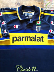 1999/00 Parma Away Football Shirt (XL)