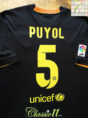 2013/14 Barcelona 3rd La Liga Football Shirt Puyol #5 (XL)