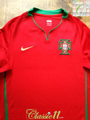 2008/09 Portugal Home Football Shirt (M)
