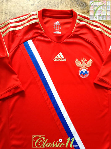 2011/12 Russia Home Football Shirt (M)