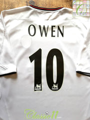 2003/04 Liverpool Away Premier League Football Shirt Owen #10 (XL)