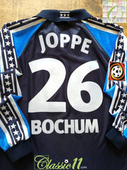 2001/02 VfL Bochum Away Player Issue Bundesliga Football Shirt. Joppe #26 (L)