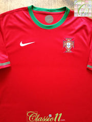 2012/13 Portugal Home Football Shirt (XL)