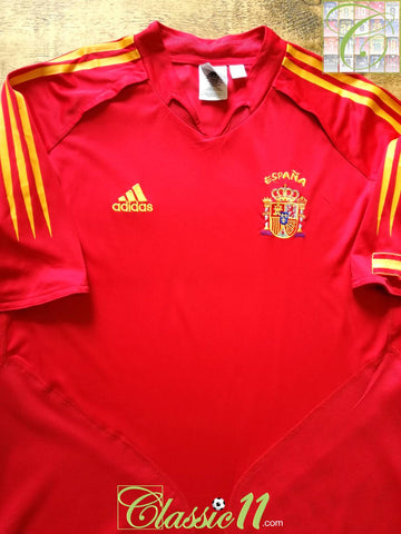 2004/05 Spain Home Football Shirt (M)